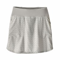 Patagonia Women's Tech Fishing Skort Small Bluff River:Tailored Grey