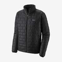 Patagonia M's Nano Puff Jacket L Ink Black W/ Oak Grove Green