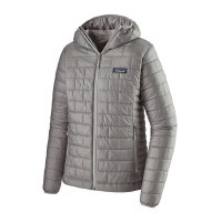 Patagonia W'S Nano Puff Hoody Medium Feather Grey