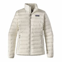 Patagonia W's Down Sweater Jacket Small Birch White