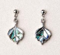 A.T. Storrs Aspen Leaves Earrings