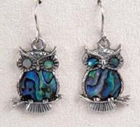 A.T. Storrs Owl Earrings