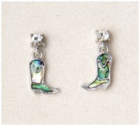 A.T. Storrs Cowboy Boot Earrings
