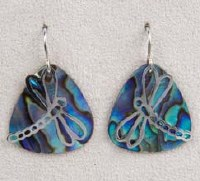 A.T. Storrs Dragonfly Summer Earrings