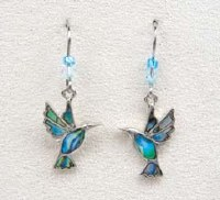 A.T. Storrs Hummingbirds Earrings