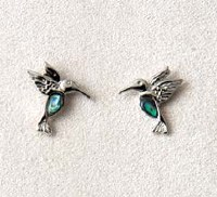 A.T. Storrs Dainty Hummingbird Earrings
