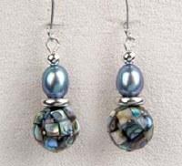 A.T. Storrs Mosaic Drop Earrings