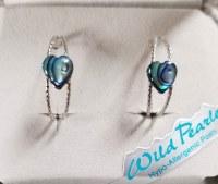 A.T. Storrs Love Hoop Earrings