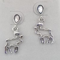 A.T. Storrs Moose Spirit Earrings