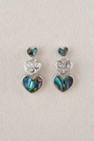 A.T. Storrs Heart's Devotion Earrings