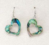 A.T. Storrs Graceful Heart Earrings