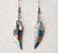 A.T. Storrs Spirit Feather Earrings