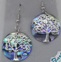 A.T. Storrs Tree of Life Earrings