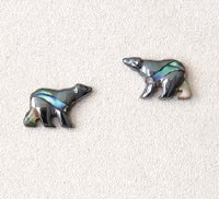A.T. Storrs Bear Earrings