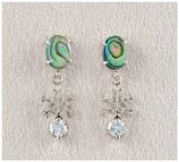 A.T. Storrs Snowflake Earrings