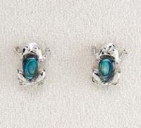 A.T. Storrs Frog Earrings