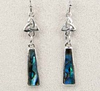 A.T. Storrs Celtic Drop Earrings