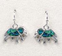 A.T. Storrs Elephant Earrings
