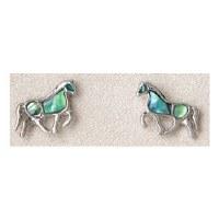A.T. Storrs Horse Earrings