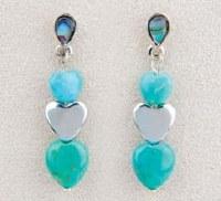 A.T. Storrs Heart to Heart Earrings