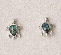 A.T. Storrs Turtle Earrings