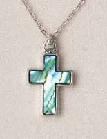 A.T. Storrs Cross-Simple Necklace