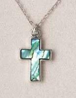 A.T. Storrs Cross-Simple Necklace