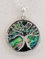 A.T. Storrs Tree of Life Necklace