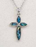 A.T. Storrs Elegant Cross Necklace