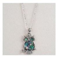 A.T. Storrs Owl Necklace