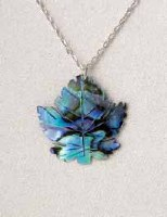 A.T. Storrs Maple Leaf Necklace