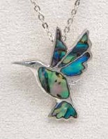 A.T. Storrs Hummingbird Necklace