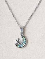 A.T. Storrs Star & Moon Necklace