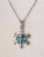 A.T. Storrs Snowflake Necklace