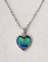 A.T. Storrs Framed Heart Necklace
