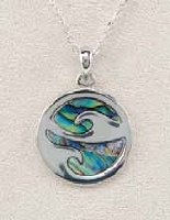A.T. Storrs Ocean Swirl Necklace
