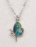 A.T. Storrs Butterfly Delicate Necklace