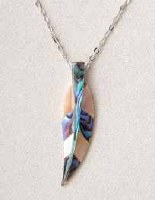 A.T. Storrs Spirit Feather Necklace