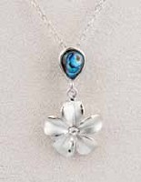 A.T. Storrs Forget-Me-Not Necklace