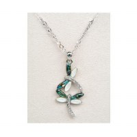 A.T. Storrs Dragonfly Dance Necklace