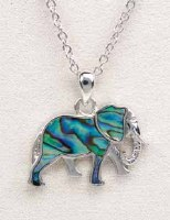 A.T. Storrs Elephant Necklace