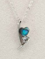 A.T. Storrs Ribbon of Love Necklace