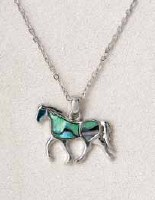 A.T. Storrs Horse Necklace