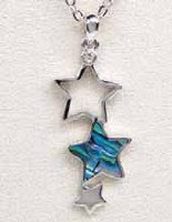 A.T. Storrs Stars Necklace