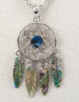 A.T. Storrs Dreamcatcher Necklace