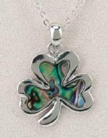 A.T. Storrs Shamrock Necklace