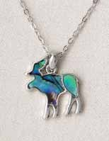 A.T. Storrs Moose Necklace