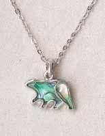 A.T. Storrs Bear Necklace