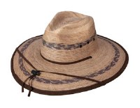 Broner Palm Leaf Lifeguard Hat One Size