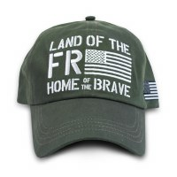 Buck Wear Inc Freedom Flag Hat One Size Multi